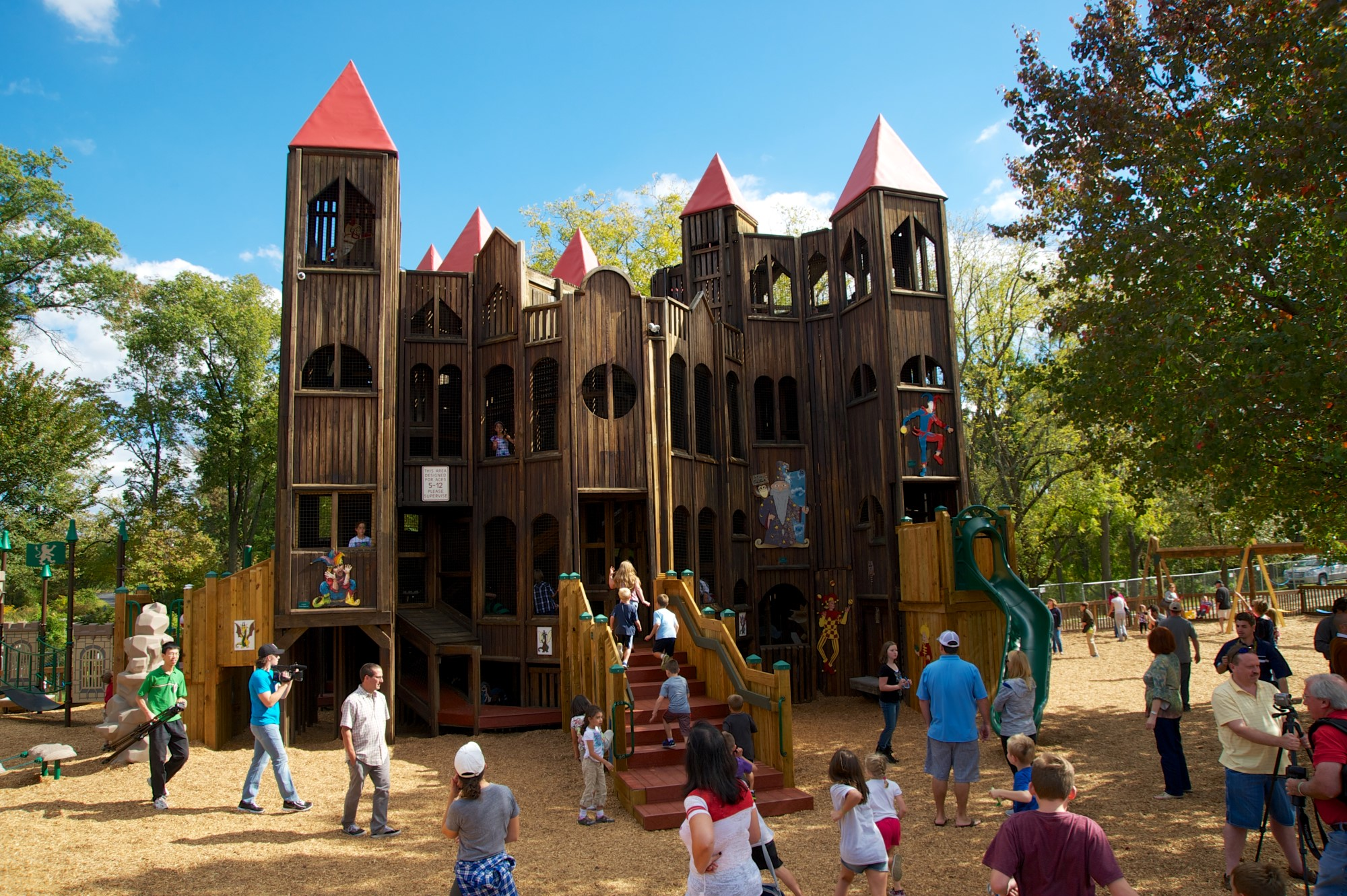 pennsylvania u0027s best playground kids castle